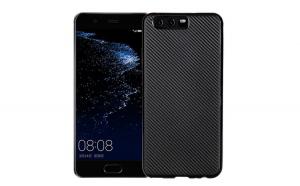 Husa Huawei P10 Plus i-Zore Carbon Fiber Negru