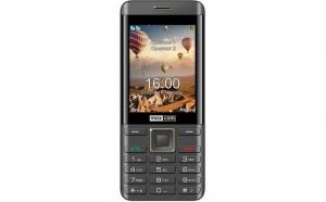 Telefon mobil Maxcom Classic MM236, Dual SIM, Negru/Auriu