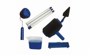 Trafalet revolutionar cu rezervor Paint Roller cu brat extensibil.