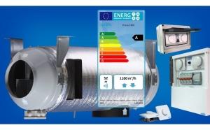 Sistem de ventilatie cu recuperare de caldura Prana 340S