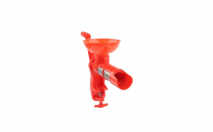 Storcator manual de rosii, Home+, cu sita din inox si cuva colectoare