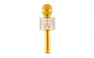 Microfon karaoke fara fir, compatibil iOS si android, tablete iPad si PC, bluetooth