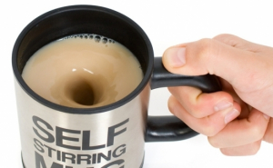 Cana inteligenta cu amestecare automata - Self Mug