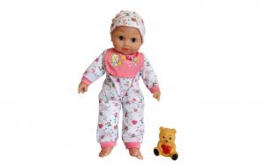 Papusa bebelus cu sunete, 45 cm