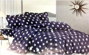 Lenjerie de pat pentru 2 persoane, 6 piese, la 135 RON in loc de 250 RON