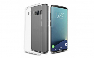Husa compatibila Samsung Galaxy S8 TPU 0.3 mm, transparent