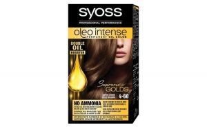 Vopsea de par, Syoss Oleo Intense, 4-60