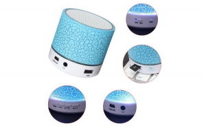 Boxa audio portabila activa cu bluetooth si diverse functii SFM01