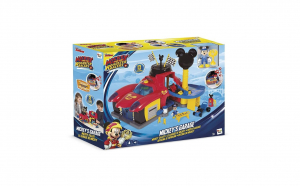 "Set de Joaca ""Mickey and the Roadster Racers"" Garajul lui Mickey Mouse"
