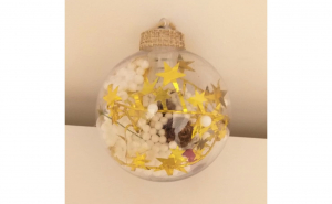 Glob cu lumini pentru brad multicolor, Festivalul Brazilor, Brazi si decoratiuni