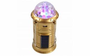 Felinar led reincarcabil, solar, disco