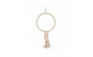Jucarie inel pentru pasari Trixie, 19 cm
