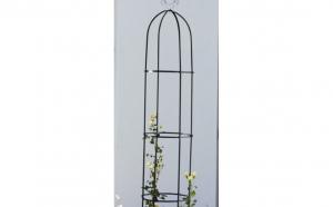 Set 2 x arcade din metal pentru flori urcatoare, 40 x 200 x 40 cm