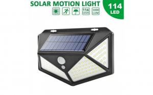 Lampa solara de perete cu senzor