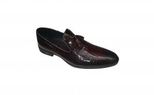 Pantofi barbati eleganti piele lacuita