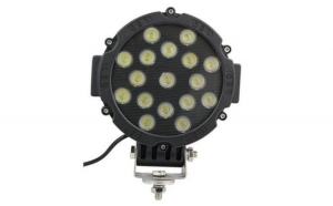 Proiector LED 51W FLOOD 60° 12/24V 3315LM Negriu