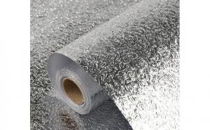 Autocolant aluminiu