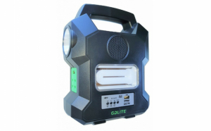 Sistem solar-GD-1000A pentru iluminat si alimentare