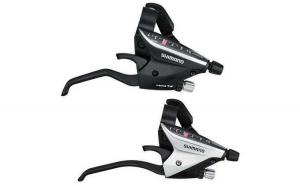 Manete integrate SHIMANO Acera ST-EF65-4A - set 3x9 viteze - negru