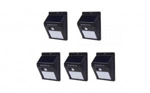 Set 5 lampi solare cu 30 LED-uri