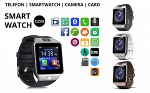 Ceas DZ09 Metalic SmartWatch - microSIM, SiteLinks_Test_Adwords