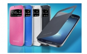 Husa flip cover Samsung Galaxy S4