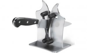 Ascutitor cutite Manual, Otel inoxidabil