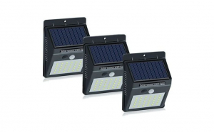 Set 3 Lampi Solare cu 30 LED