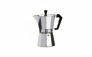 Cafetiera Espressor 9 cesti, aluminiu alimentar, 270 ml