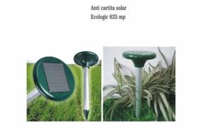 Aparat pentru alungat cartite, cu alimentare solara, la 69 RON in loc de 138 RON
