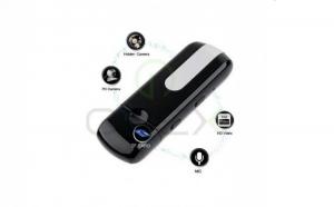 Stick spion cu camera HD, senzor de miscare, Microfon ultrasensibil incorporat + card de memorie 8 GB GRATUIT