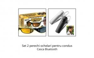 Ochelari de condus + casca Bluetooth, Cadouri Craciun, Inspiratie pentru tine