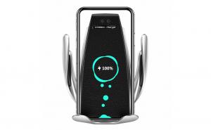 Suport telefon cu incarcator wireless 2in1 - S5