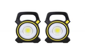 Set 2 lanterne reincarcabile LED, incarcare solara si USB