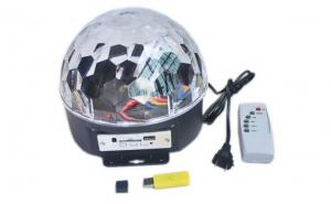 Glob disco cu boxe si Mp3 + telecomanda + stick USB