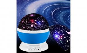 Proiector Star Master, rotatie 360