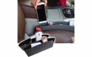 Suport organizator pentru masina-format din 2 buzunare ce se amplaseaza intre scaunele masinii