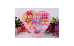 Inele figurine in cutie inimioara