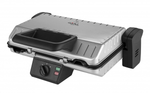 Contact grill GALLET CHARTRES GRI660, 1600W, placi detasabile, deschidere la 180 grade