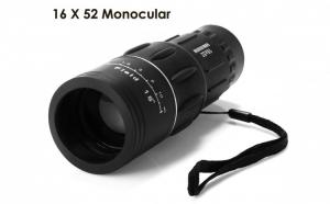 Monoclu KL1040 16x52 - Husa Inclusa - Ideal pentru Calatorii