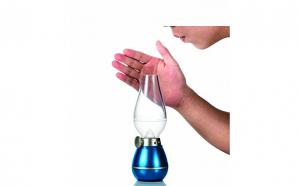 Felinar LED cu stingere prin suflare pe baza de senzor, model Retro