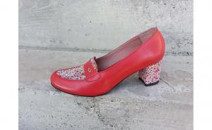 Pantofi Mistic, din piele naturala, Incaltaminte de sezon