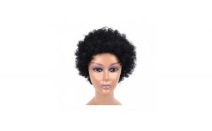 Peruca din par artificial, model afro,