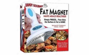 Dispozitiv pentru inlaturarea grasimii din mancare
