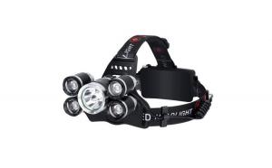 Lanterna de cap, 5 LED-uri