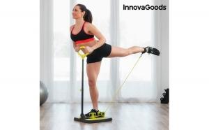 Platforma de Fitness pentru Muschii Fesieri si Picioare cu Ghid de Exercitii InnovaGoods