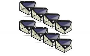 Set 8 Lampi solare 100LED, senzor