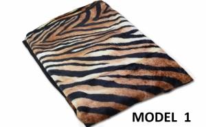 Patura pufoasa tip cocolino, modele animal print, 140 x210cm , la doar 49 RON in loc de 99 RON