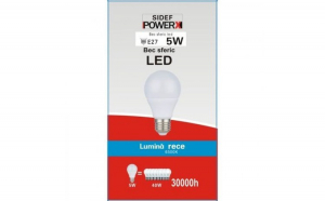 Bec Sferic LED ,