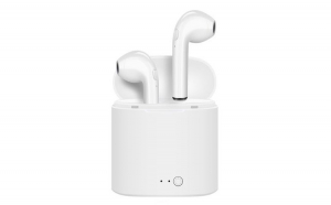 Casti audio wireless cu bluetooth i7S